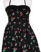 HELL BUNNY STRAWBERRIES DRESS