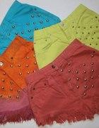 kolorowe szorty