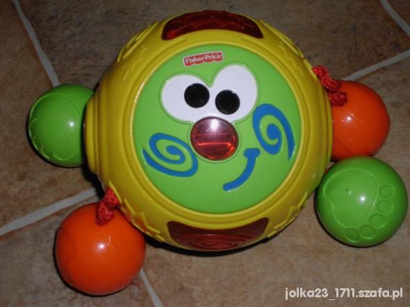 Zabawki uciekajaca kula pełzak do nauki raczkowania
