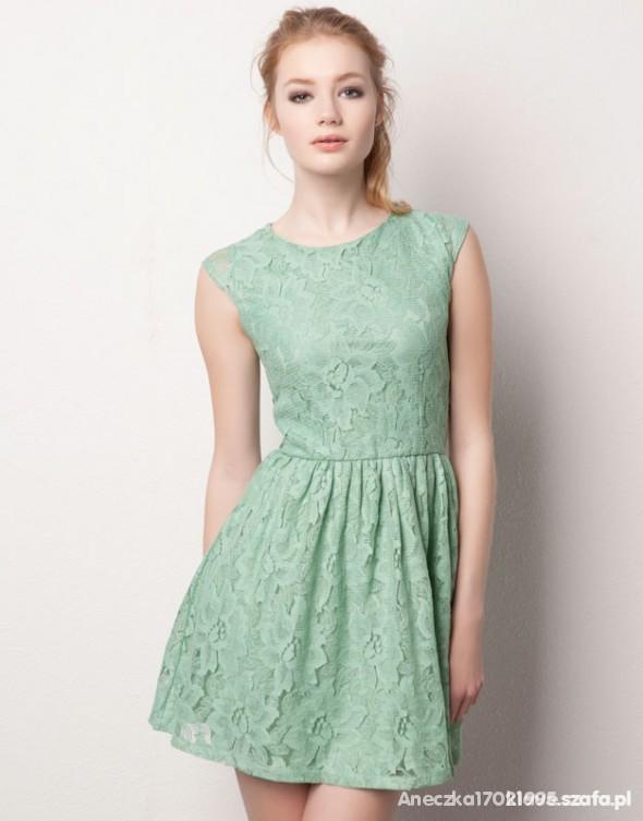 Suknie i sukienki Miętowaaa