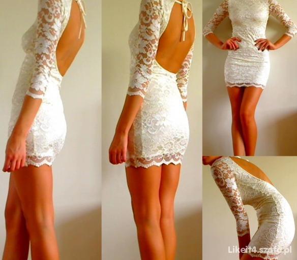 Wieczorowe Sukienka koronkowa