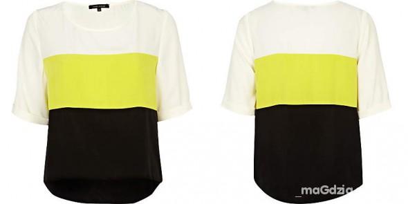 Bluzeczka marki RIVER ISLAND rozmiar 8...