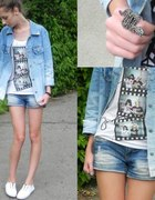 Just jeans ombre shirt