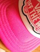 czapka vans różowa