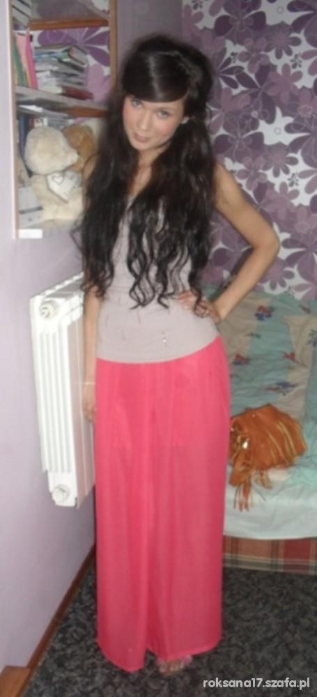 Mój styl długa spódnica Top