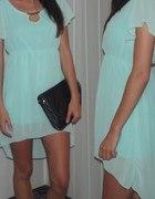 sukienka jasniutka mieta