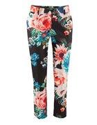 spodnie kwiaty H&M zara