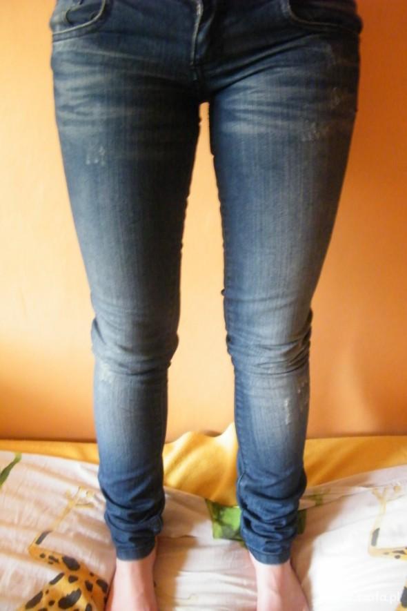 Rurki jeans PullBear rozmiar XXS XS JAK NOWE