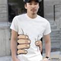 Koszulka z ręką