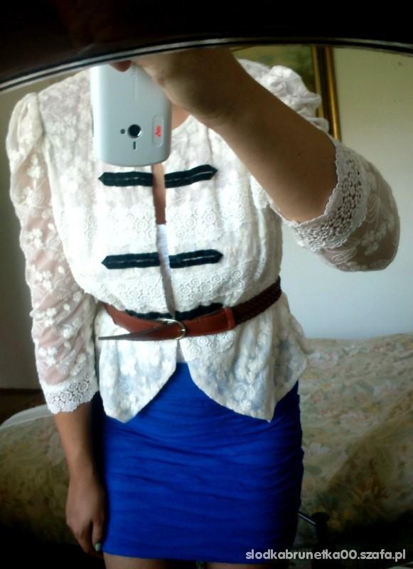 Mój styl kobalt biel