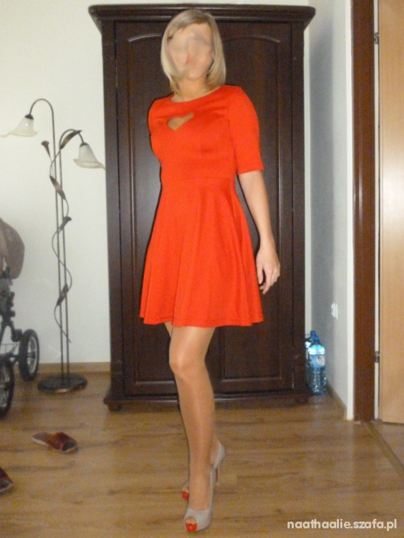 Suknie i sukienki Sukienka z serduszkiem KT002
