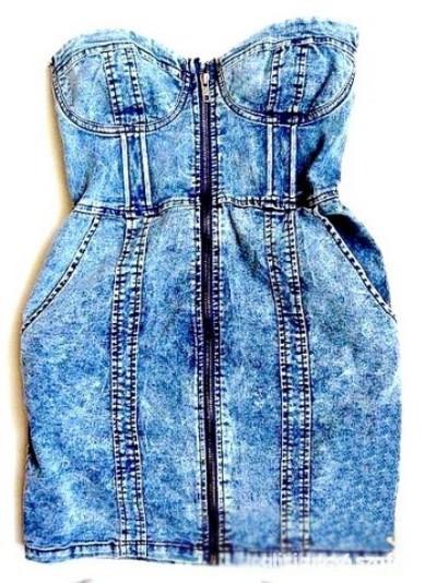 Suknie i sukienki ZIP DRESS H&M BLOGG MARMURKA M