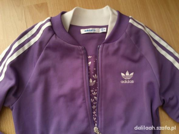 fioletowa bluza adidas w Bluzy Szafa.pl