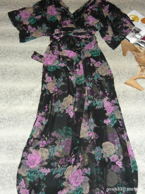 Suknie i sukienki ZJAWISKOWA SUKIENKA MAXI ATMOSPHERE 40 42 44