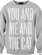 bluza you and me and the cat