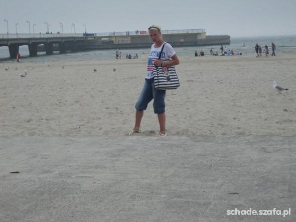 Mój styl zestaw na wakacyjny spacer po plaży