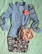 Moja spódniczka floral