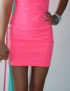 różowa neonówka...