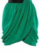 zielona spódnica h&m