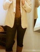 Marynarka i jeansy