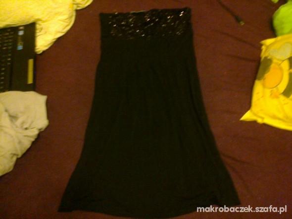 Suknie i sukienki SUKIENKA CZARNA