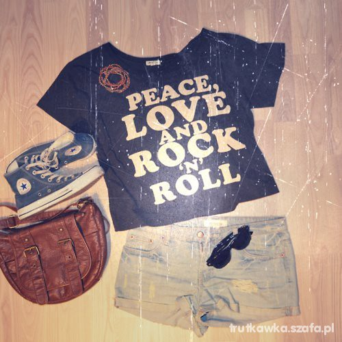 Peace love rock n roll