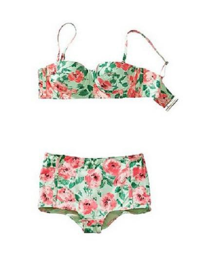 h&m floral pin up