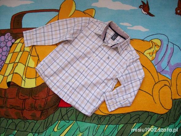 Koszulki, podkoszulki ZARA 98 Elegancka modna koszula dla kawalera