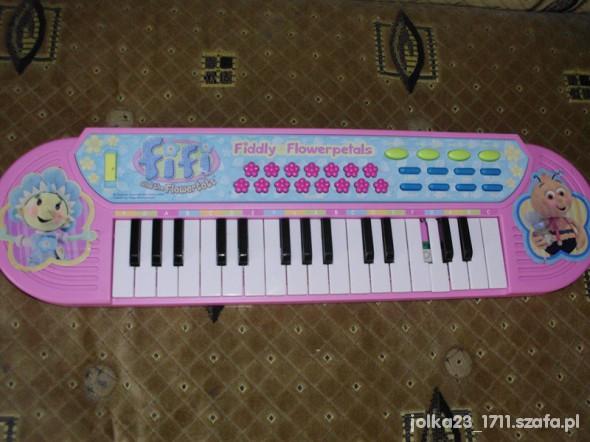 Zabawki duże pianinko Fifi Niezapominajka