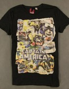 DIVIDED BY H&M MARVEL CAPTAIN AMERICA T SHIRT