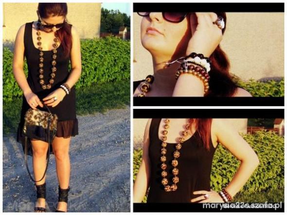 Mój styl My black dress Marcelka Fashion