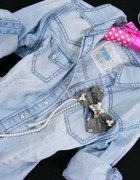 jeansowa koszula XS S