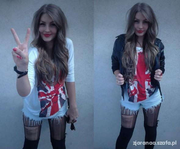 Blogerek Britain flag