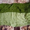 Zielona chusta szal