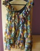 sukienka floral h&m