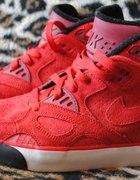 buty sportowe nike za kostke czerwone z USA
