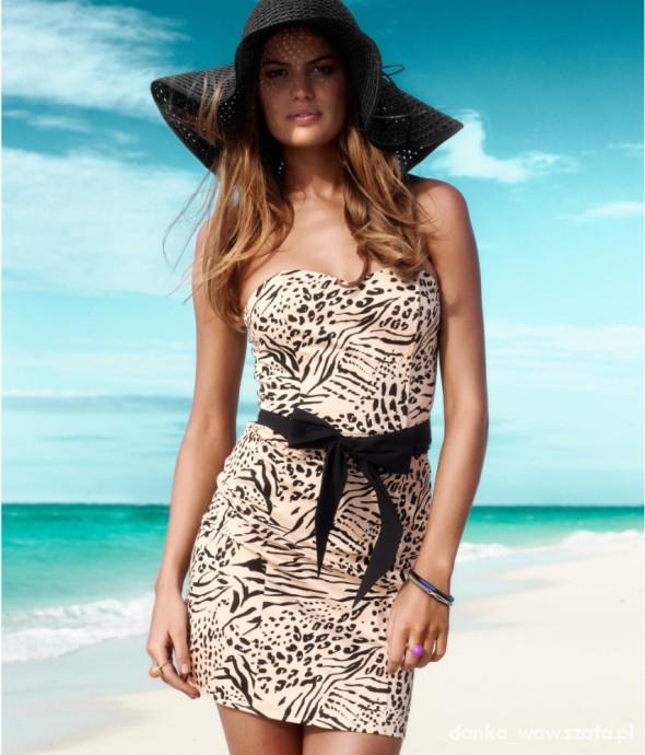 Suknie i sukienki sukienka h&m