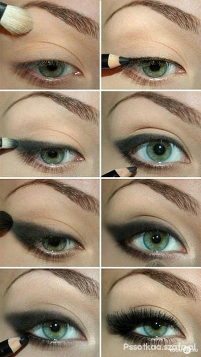 kocie oczko bez eyelinera
