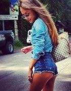 Jeansowa koszula...
