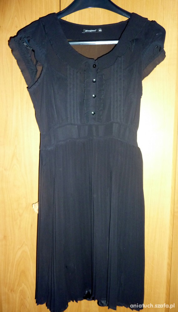 Suknie i sukienki Sukienka plisowana ATMOSPHERE 36 S