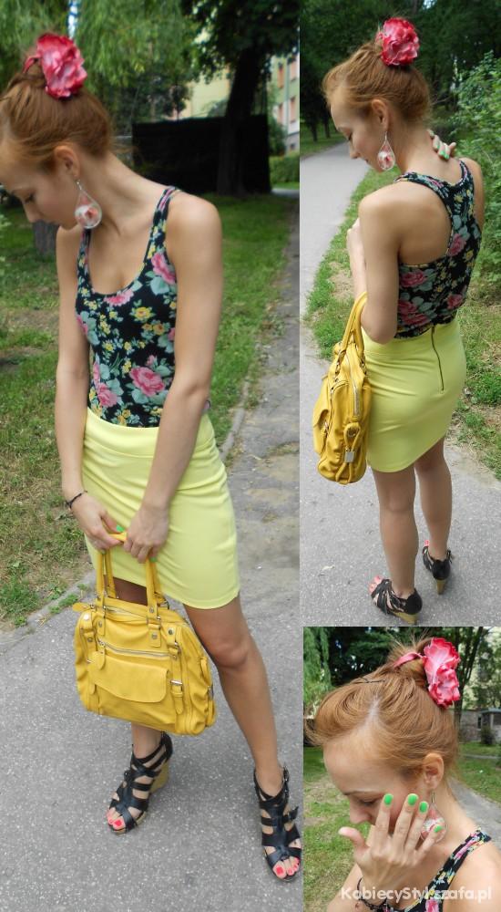 Mój styl lemon & flowers