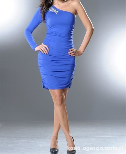Suknie i sukienki Super Asymetryczna Sukienka Nieużywana