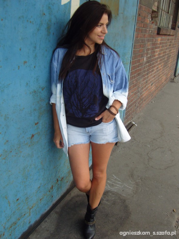 Mój styl ombre jeans
