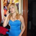 Gina niebieska
