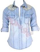 Jeansowa koszula 40 lub 42