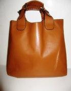 Shoppers Bag karmelowa
