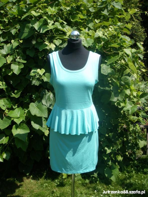 Suknie i sukienki Wyprzedaż sukienek 42 Miętowa