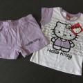 Hello Kitty koszulka spodenki 104