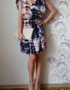 H&M piękna kopertowa sukienka 38 M