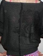 oversize sweterek cena z wysyłką